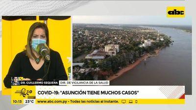 Asunción, la segunda zona más golpeada por el COVID-19