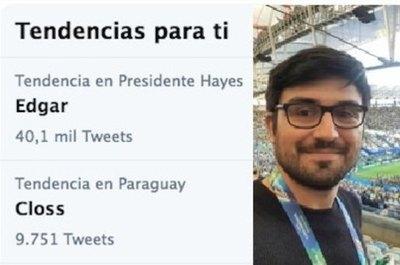 Crónica / El día que Edgar fue tendencia en redes...