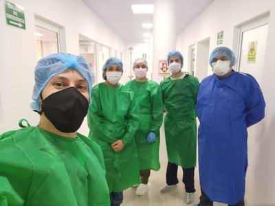 Capacitan a personal contratado para fortalecer el Laboratorio de Biología Molecular en Alto Paraná