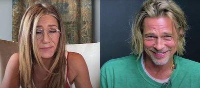 "El pintoresco encuentro entre Jennifer Aniston y Brad Pitt: ""Sabes que siempre pensé que eras muy guapo"""