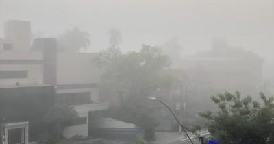 """La Nación / Asunción amaneció con niebla y fue  tendencia en redes: """"Silent Hill"""""""