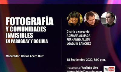 Este viernes se realiza el webinar «Fotografía y comunidades invisibles de Paraguay y Bolivia»