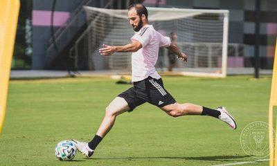Inter de Miami presenta a Gonzalo Higuaín