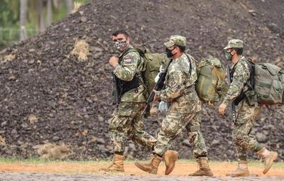 Agentes de la FTC ingresan a zona boscosa de la Estancia Tranquerita