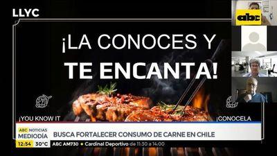 Buscan fortalecer consumo de carne paraguaya en Chile