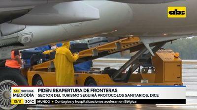 Sector del turismo solicita reapertura de fronteras