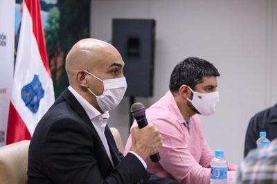 Mazzoleni y Rodríguez analizaron acciones conjuntas para luchar contra el Covid-19 y el dengue