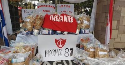 La Nación / Símbolo de dignidad: colecta solidaria del Goethe movilizó a 24 colegios
