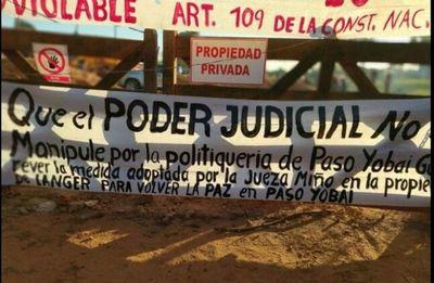 Detienen e imputan a mineros que habrían invadido tierras en Paso Yobái