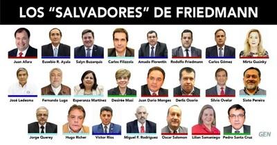 La Nación / Salvataje a Friedmann: Senadores suman excusas y arrepentimientos