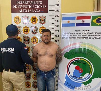 Detienen a un hombre buscado por la justicia brasilera