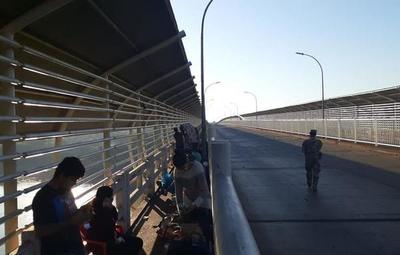 Comuna de Ciudad del Este exige reapertura total del Puente de la Amistad