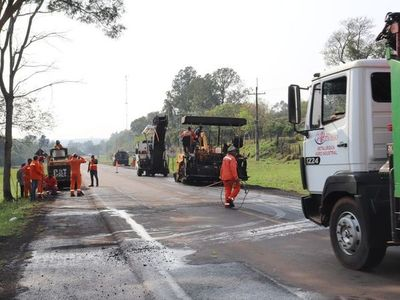 Avanza el mejoramiento de 168 km de la Ruta  PY01 por US$ 24 millones