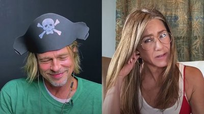 Crónica / Hubo jegusta'i virtual entre Jennifer Aniston y Brad Pitt