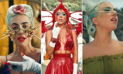 """""""911"""", el imponente nuevo vídeo musical de Lady Gaga"""