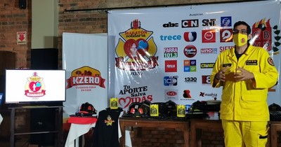 La Nación / Bombetón 2020: bomberos preparan maratón nacional en octubre