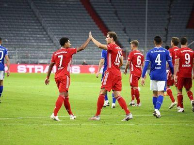El Bayern le mete ocho goles al Schalke para abrir la Bundesliga