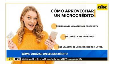 ¿Cómo utilizar correctamente un microcrédito?