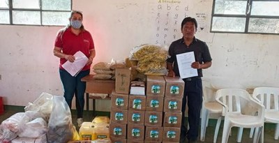 MDS entregó cerca de 5.500 kilos de alimentos a comedores de comunidades indígenas