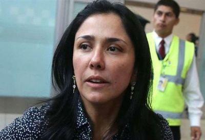 Imponen arresto domiciliario a esposa de expresidente Humala por caso Odebrecht