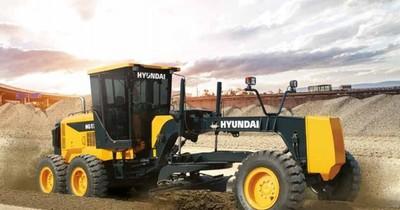 La Nación / Automotor ya comercializa las motoniveladoras Hyundai