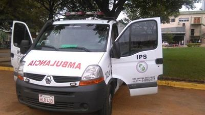 Contrataciones bloquea otra licitación en IPS para alquiler de ambulancias