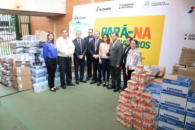 ITAIPU entregó segundo lote de insumos al SENEPA para campaña antidengue