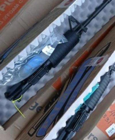 """Incautan fusiles declarados como """"repuestos"""" en el aeropuerto Silvio Pettirossi"""