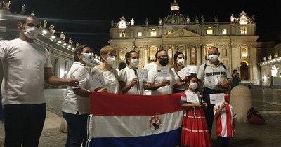 La Nación / Paraguayos en Italia piden paz y liberación de los secuestrados