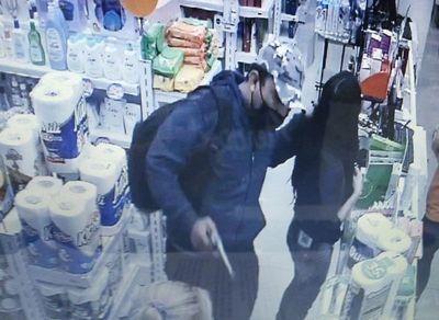 Clientes afectados durante asalto a farmacia en San Lorenzo