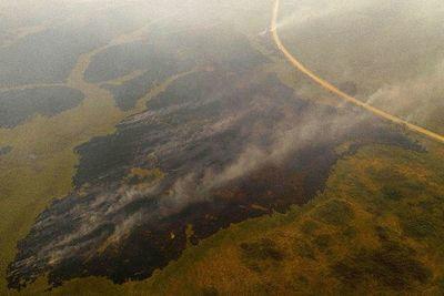 El humo de los incendios en el Pantanal llega hasta São Paulo