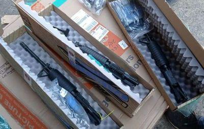 Confiscan armas de largo alcance traídas ilegalmente