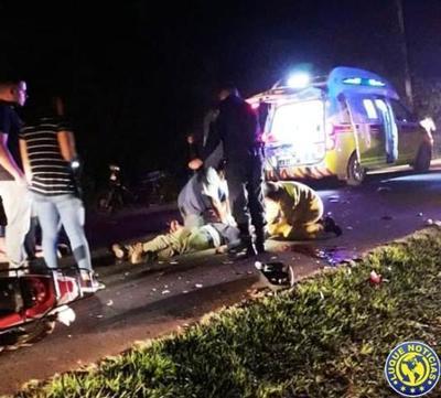 Motociclista fallece en accidente •