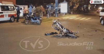 Conductor chocó a motociclista y lo dejó abandonado a su suerte