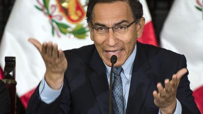 Congreso de Perú no aprueba la destitución de Martín Vizcarra