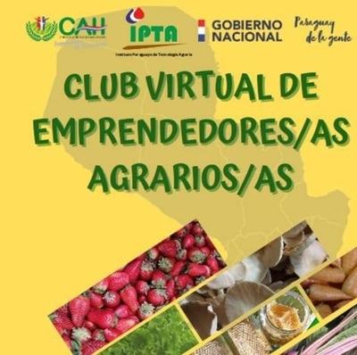 HOY / Emprendedores agrarios difunden sus emprendimientos en club virtual