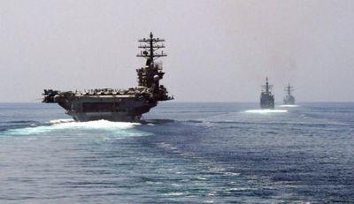 Portaaviones de EE.UU. en el Golfo Pérsico por sanciones a Irán