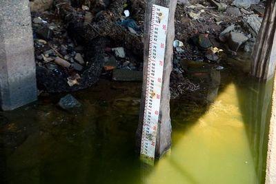 El río Paraguay en Asunción llega a solo 0,10 metros