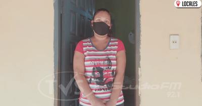 Joven madre apela a la solidaridad de la ciudadanía