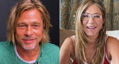 "HOY / Jennifer Aniston y Brad Pitt ""se reencuentran"" y enamoran a las redes"