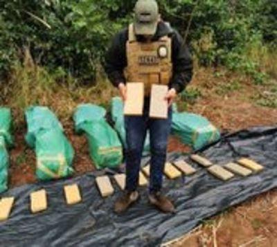 Tras hallazgo de droga en zona del EPP, sospechan vínculos con narcos