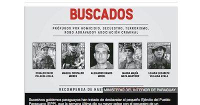 """La Nación / BBC sobre EPP: """"pequeño, pero poderoso grupo insurgente"""" que no puede ser exterminado en Paraguay"""