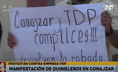 Quinieleros denuncian a empresa de Wasmosy por irregularidades