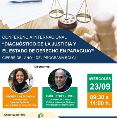 Presentarán informe sobre la justicia paraguaya