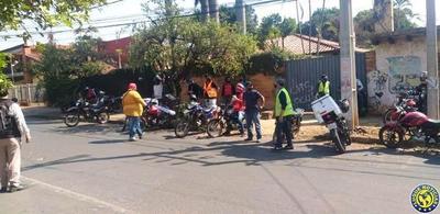 Nuevo escrache a conductor por muerte de delivery en Luque •