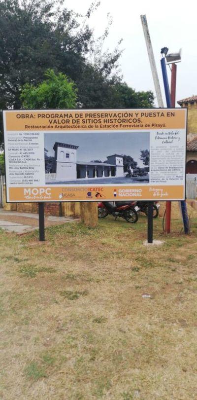 La Estación de Pirayú, una joya que vuelve a brillar