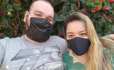 """HOY / Cielito Fernández y su novio superaron al COVID-19: """"Esto nos volvió más fuertes"""""""