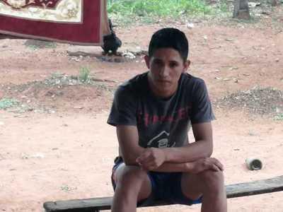 Adelio Mendoza ya está en su hogar en la comunidad Pai Tavytera