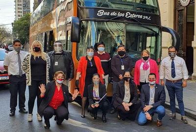 Más de 6.000 compatriotas retornaron desde Buenos Aires