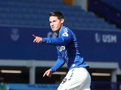 James se estrena como goleador en la segunda victoria del Everton